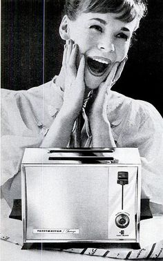 That's right. Try to look like you're excited to get a toaster for your anniversary. Here is the gift rule guys: Don't give anything that plugs in unless she asked for it.
