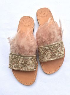 Handmade Leather Sandals Rosaline Slip on sandals