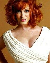 Christina Hendricks, i could prob style my hair just like this, now I just need to find out how! Beautiful Christina, Beautiful Redhead, Cut My Hair, Hair Cuts, Cristina Hendricks, Joan Harris, Hottest Redheads, Strawberry Blonde, Look At You