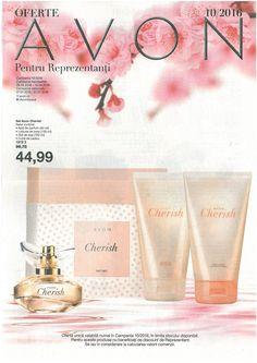 Catalog Avon Oferte pentru Reprezentanti C10 2016 - O mica brosura Avon cu oferte prezente in perioada 07 - 27 Iulie 2016! Special: set Avon Cherish!