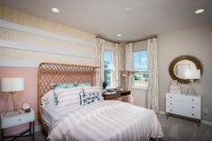 View Floor Plans at Woodland Park in Orlando, FL Taylor Morrison, Orlando Theme Parks, Woodland Park, Bedroom Floor Plans, Bedroom Flooring, Home And Family, New Homes, House Design, How To Plan