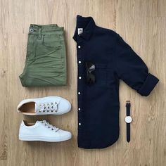 Men Casual Shirt Outfit 🖤 Very Attractive Casual Outfit Grid, Business Casual Attire For Men, Men Casual, Casual Ootd, Casual Chic, Smart Casual Menswear, Trendy Fashion, Mens Fashion, Fashion Trends, Fashion Vest