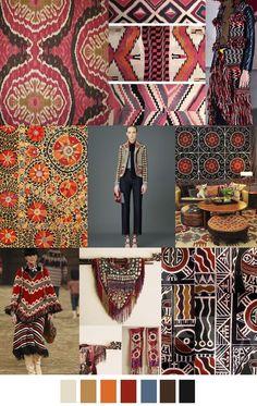 Pattern Curator is a trend service for color, print and pattern inspiration. Color Patterns, Print Patterns, Motifs Textiles, Estilo Hippie, Future Trends, Fashion Prints, Fashion Design, 2016 Trends, Color Stories