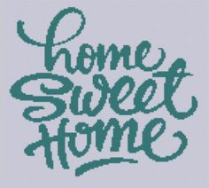 Looking for your next project? You're going to love Home Sweet Home 2 Cross Stitch Pattern by designer mfdpatterns.