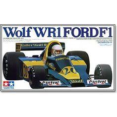 ... Automobiliai > 1/20 > Tamiya - Wolf WR1 FORD F1, Mastelis: 1/20, 20006