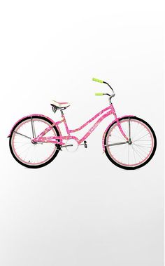 Lily Pulitzer Bike! I need this.