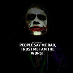 Joker Qoutes, Best Joker Quotes, Badass Quotes, Goth Quotes, Dark Quotes, Movie Quotes, True Quotes, Motivational Quotes, Funny Quotes