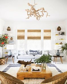 ive got beach vibes on the brain! showing you how to get that ⚓️ beach cottage look on the blog today so your home can feel like vacation ALLLLLthe time ... http://liketk.it/2orXe @liketoknow.it #liketkit . . . design by @annaburkeinteriors via @dominomag