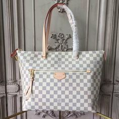 e914a6d0b52a Buy LOUIS VUITTON Replica of top quality from China - Iena MM Damier Azur  Canvas is exclusively of top original order quality.