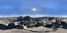 Panoráma Rysy - stredný vrchol, Vysoké Tatry, Vysoké Tatry, Slovensko. Mount Everest, Mountains, Water, Photography, Travel, Outdoor, Gripe Water, Voyage, Outdoors
