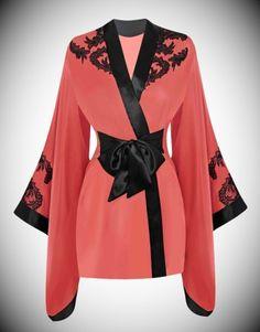 Gowns & Kimonos by Agent Provocateur - Lottus Kimono