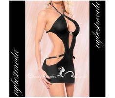 Siyah Metal Halkalı Dekolteli Elbise L-XL http://www.bizde.com/siyah-metal-halkali-dekolteli-elbise-l-xl-widq2361315