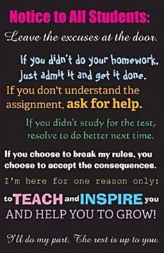 Notice to All Students @TeachingChannel @TeachThought @EdWeekTeacher @ell_teacherpros @webenglishteach @TeacherManRI pic.twitter.com/NTGrczew6A