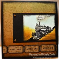 Traveler Train - MZ by Zindorf - Cards and Paper Crafts at Splitcoaststampers
