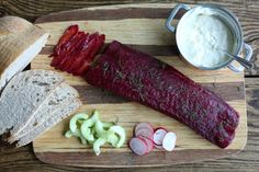 ProWare's Beetroot and Vodka Cured Salmon