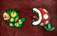 Lakitu from SMW2: Yoshi's Island. An idéa I have had for a while now. I wanted to do Lakitu, but the string would be to fragile, so I took a real string to tie them together. Sprites are from Sprit...
