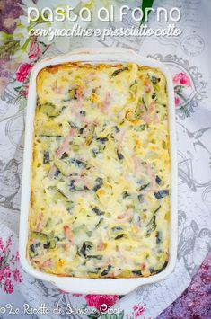 Crepes, Pasta Al Pesto, Pasta Noodles, Ravioli, Diy Food, Prosciutto Cotto, Lasagna, Quiche, Zucchini