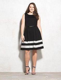 Dressbarn | Plus Size Fit & Flare Dress |