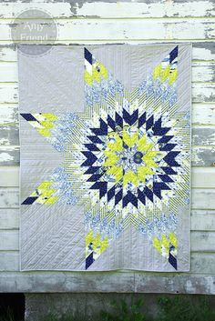 Sizzix Die Cutting Tutorial: Luxe In Bloom Lone Star Quilt by Amy Friend