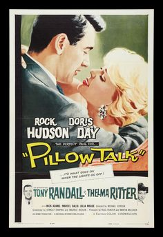 Pillow Talk-He may not have really liked girls, but he sure made a good leading man. Rock...why??