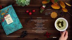 2016 m. lapkričio mėnesio bibliotekos renginių kalendorius darbalaukiui. November 2016 library event calendar for desktop  - Vilniaus apskrities A. Mickevičiaus viešoji biblioteka