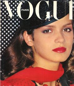 "Gia Marie Carangi - let us never forget the pure, warm, rich beauty that was Gia as seen on the cover of Paris Vogue Apr 1979 - at a time when 98% of beauty was considered ""blonde"", she pioneered poses and facial expressions never previously used in modeling. an original candle in the wind - lost to drug addiction and HIV @26 in 1986."