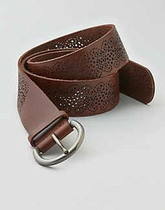 fd175b3e9 What a cinch. Brown Leather Belt, Brown Belt, Leather Belts, American Eagle