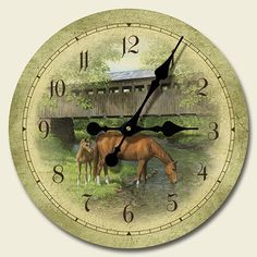 Special Offers - Wood clockSimple Pleasures HorsesArtworks Home Accents large kitchen wall clocks code 887 - In stock & Free Shipping. You can save more money! Check It (May 16 2016 at 10:00AM) >> http://wallclockusa.net/wood-clocksimple-pleasures-horsesartworks-home-accents-large-kitchen-wall-clocks-code-887/