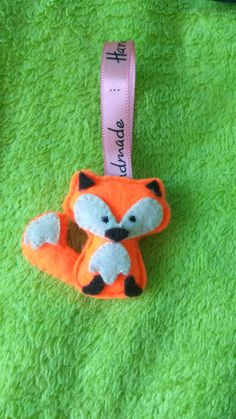 Cute fox with felt 😍