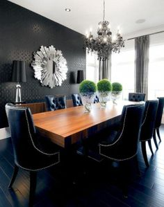 High Gloss Paint And Stencils | To Get This Look, Consider Using A Stencil .