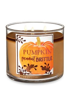 Shop The World's Best Candles on sale. Fill your home with your favorite scented candles fragrances from Bath & Body Works Bath Candles, 3 Wick Candles, Scented Candles, Candle Jars, Unique Candle Holders, House Smell Good, Bath Body Works, Peanut Brittle, Candle Companies
