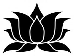 lotus stencil free - Google Search