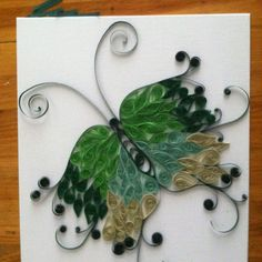 Pinterest Quilling Patterns | My first attempt at quilling without a pattern
