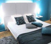 Fotos de decoração de quartos de casal simples   Fotos de Decoração