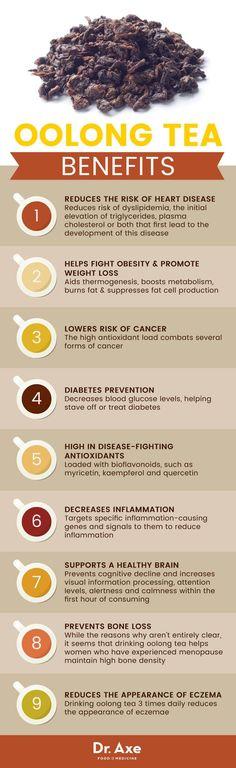 Oolong tea benefits - Dr. Axe http://www.draxe.com #health #keto #holistic #natural #recipe