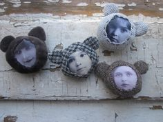 Bear Kins brooches by Maris Aare www.fb.com/Rbearshop