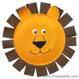 Image detail for -paper plate lion the important detail for making a lion is its mane ...