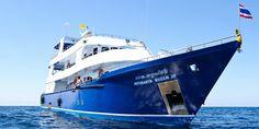 Week dive liveaboard in Similan Islands, Thailand aboard Manta Queen