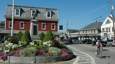 Kennebunkport,Maine-Dock Square
