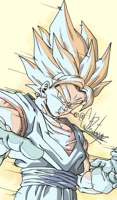 Vegetto by: cat. Human Figure Sketches, Figure Sketching, Dragon Ball Z, Gogeta And Vegito, Akira, Dragon Images, Mobile Legend Wallpaper, Naruto Wallpaper, Animes Wallpapers
