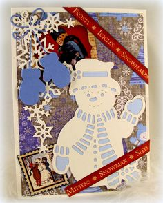 Dar's Crafty Creations: Snowman Time of Year with Dies R Us ...