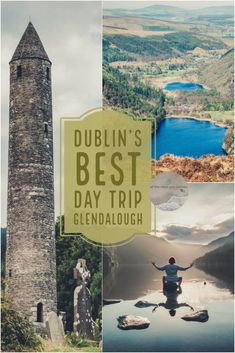 Dublin City is blessed with its proximity to some of Irelands greatest sights. An easy day trip you can do is to this monastic settlement nestled in the valley of the two lakes, Glendalough. With history, hiking and astounding beauty, it will give you a taste of what the rest of Ireland has to offer | Blog by all the ways you wander | we travel to inspire | #traveltips #ireland #hiking #waterfall #landscape #nature #beautiful #ancient #lake #wicklow