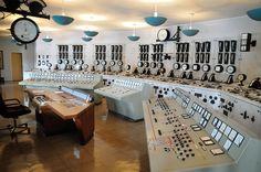 Control room, Tyssedal Museum by Statkraft, via Flickr