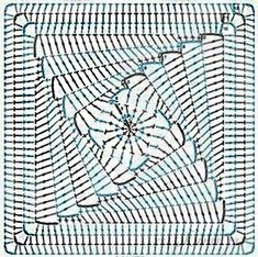 Вязаные квадратные мотивы крючком всегда актуальны, ведь из них прекрасно можно собрать интересные, и даже шикарные изделия, а порой и неожиданные, очень разные по своему назначению, это может быть одежда или предметы для уюта дома и много чего другого. Предлагаю вашему вниманию красивый квадратный мотив со спиральной сердцевиной из двух цветов. Вязаные квадратные мотивы крючком,