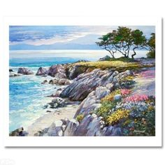 """""""Monterey Bay After the Rain"""" by Howard Behrens"""