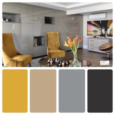 Grey Colour Scheme Bedroom, Interior Architecture, Interior Design, Modern House Plans, Luxury Living, House Colors, Color Inspiration, Decoration, Sweet Home