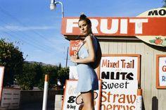 Lightweight denim crop tops & mini skirts.