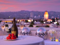 Romantic Valentine's Dinner on the Luxe Rodeo Drive Hotel Rooftop ...