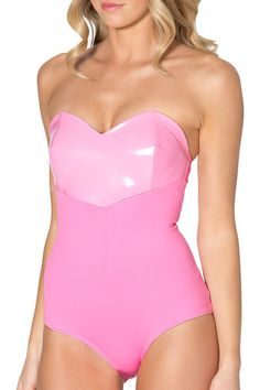 Sweetheart Princess Pink Bodysuit