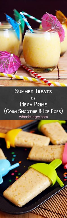 Easy summer treats with Mega Prime's Whole Kernel Corn and Cream Style Corn